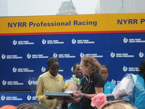 Winner Linet Masai, Sub-5 min/mile Pace