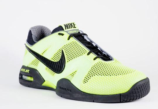 """Habitual Limpiamente Previamente  Nike Air Courtballistec 2.3 """"Neon Nadal"""" : Tennis Buzz"""
