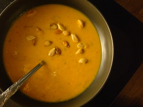 Thai Red Curry Squash Soup