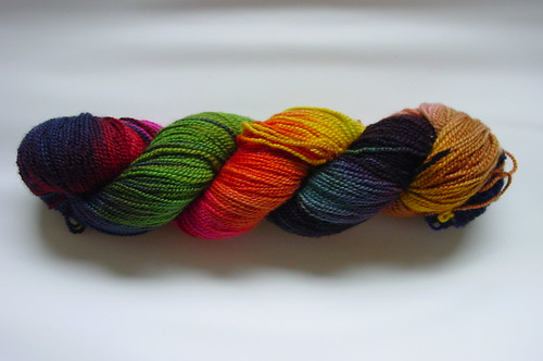 Storm op Zolder sokkenwol / Storm in the Attic sock yarn