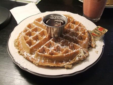 Multigrain waffle