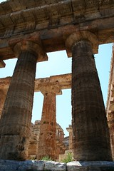 Paestum ( FedericoLukkini ) Tags: italy shadows columns temples paestum italians holidaysvacanzeurlaub
