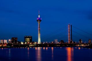 Duesseldorf Skyline