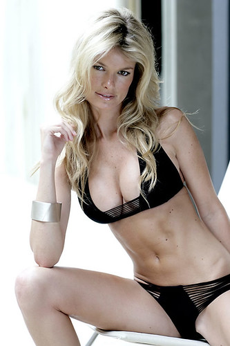 Lingerie model Marisa Miller bikini photo