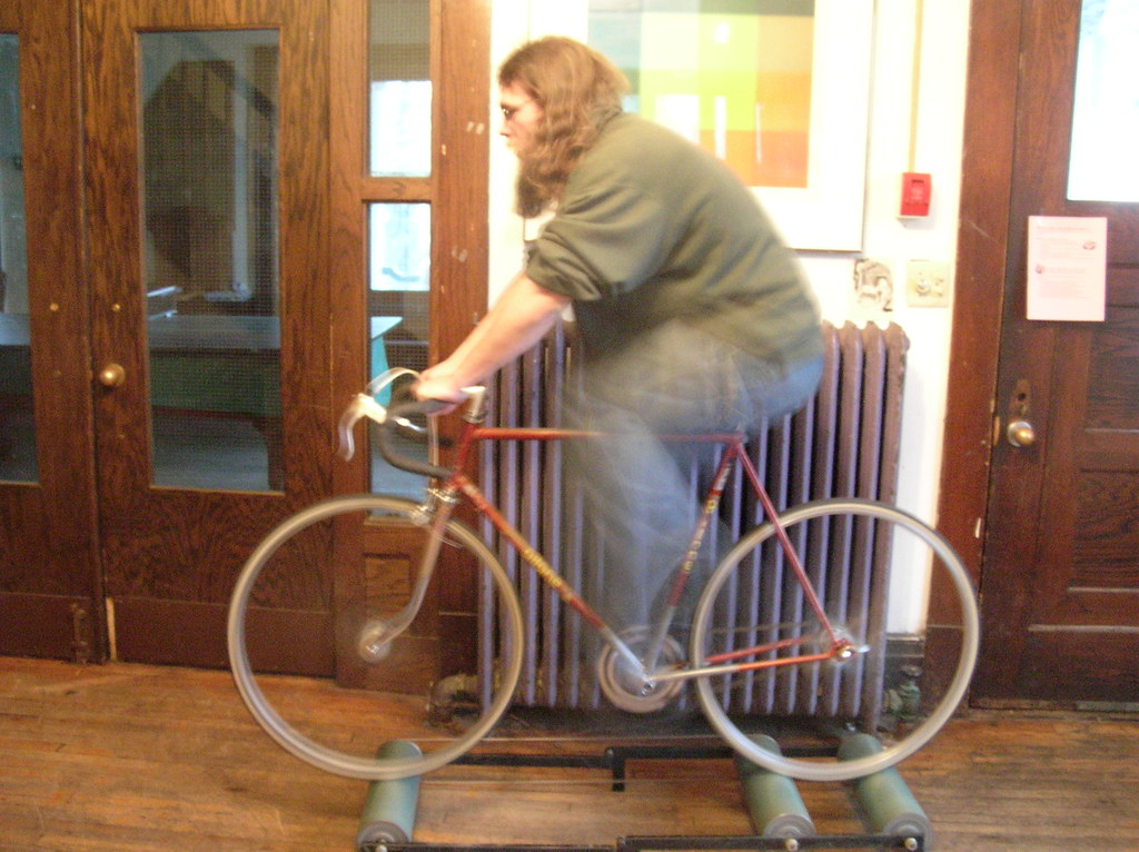 Bicycle Treadmill