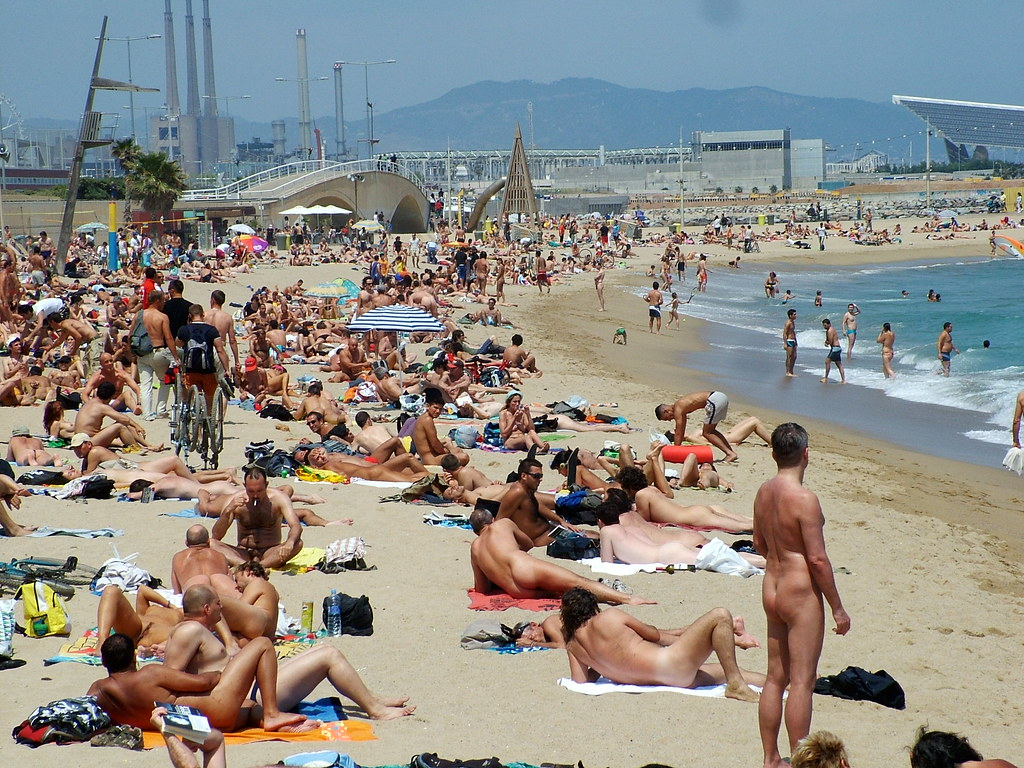 Nude beaches of spain casually found