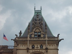 Storming at the Biltmore (Little Spooks) Tags: railroad house home big asheville northcarolina trains vanderbilt huge mansion biltmoreestate georgevanderbilt
