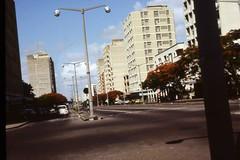 Straße in Maputo