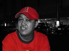 barracuda in red (jobarracuda) Tags: me myself lumix pinoy panasoniclumix dmcfz50 jobarracuda jojopensica pensica