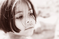 Delicate Sunday... (carf) Tags: children child kid kids girl girls atrisk community favela shanty stiojoaninha esperana hope brasil brazil hummingbirds social development prevention education educational support altruism mundouno changemakers change everyoneachangemaker beauty beautiful eyes blackwhite bw sepia pink toned