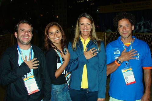 Revezamento da Tocha Pan-Americana (Rio de Janeiro) (12-07-07) por Bruno Girão.