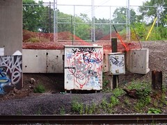 TRAIN BRIDGE PLAIN'S.RD (cubically) Tags: graffiti tags plainsrd