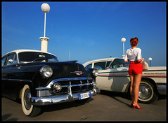 Summer jamboree '07 (Adriano.) Tags: senigallia italy rockandroll elvis chevrolet fifities nicelegs retro buddyholly dita von teese jerryleelewis rockers bikers northon triumph bsa johnnycash hotrod customs cruisers hairpomade chevy canoniani plus4excellence plus4 excellence invitedphotosonlyplus4 yougotit