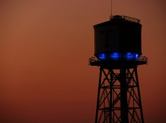 (R-E-M) Tags: canon germany evening watertower westpark bochum steelworks s3is