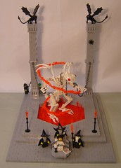 Maleficus Vipera (DARKspawn) Tags: black castle classic skeleton lego snake magic fantasy demon devil undead