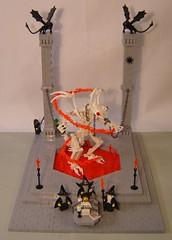 Maleficus Vipera (DARKspawn) Tags: black castle classic skeleton lego snake magic fantasy demon devil undead