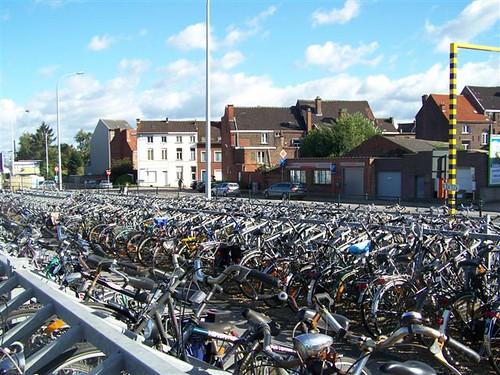 Бельгия - страна велосипедистов