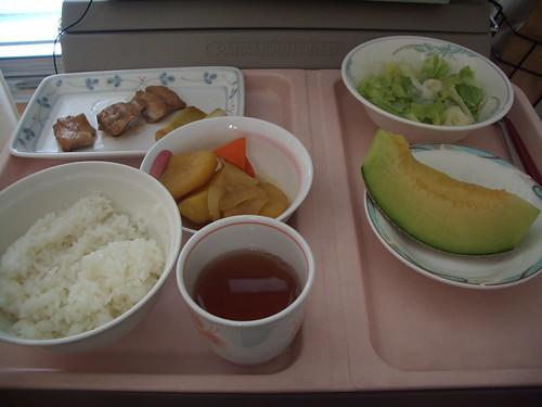 07年8月29日の昼食