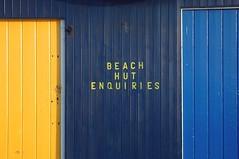 UK - IOW - Sandown Blue and Yellow (Darrell Godliman) Tags: uk greatbritain travel b
