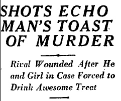 Drink a Toast to Death Headline