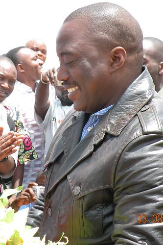 President Kabila welcomed