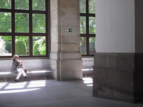 Inside the Reina Sofia
