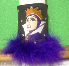 the evil queen (The Koozie Floozie) Tags: college beverage disney snowwhite evilqueen personalizedbeerkoozies