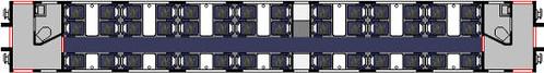 First Class carriage - Mk1 Royal Scot plan