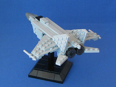 MiG-25 Foxbat (-Mainman-) Tags: fighter lego russia aircraft military ussr 2010 interceptor gurevich mikoyan mig25 foxbat 3jun10