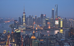 I Love Shanghai (Sarmu) Tags: china city light sunset wallpaper urban building skyline architecture bar night skyscraper river lights twilight highresolution downtown cityscape view skyscrapers shanghai nightshot widescreen landmark icon 1600 clear highdefinition resolution 1200 cbd hd bluehour wallpapers   pudong iconic   bund jinmao 1920 jinmaotower vantage shimao pearltower vantagepoint ws thebund orientalpearltower 1080 1050   720p lujiazui 1080p swfc urbanity huangpuriver 1680 720    2560 shanghaiworldfinancialcenter    shimaointernationalplaza sarmu leroyalmeridienshanghai 789nanjinglubar