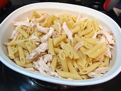 Queso Chicken Pasta