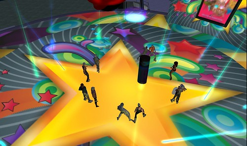 dance floor at jakes club resort