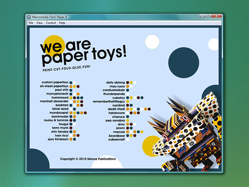 We Are Paper Toys Book - CD