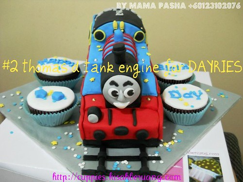 set thomas d tank engine #2