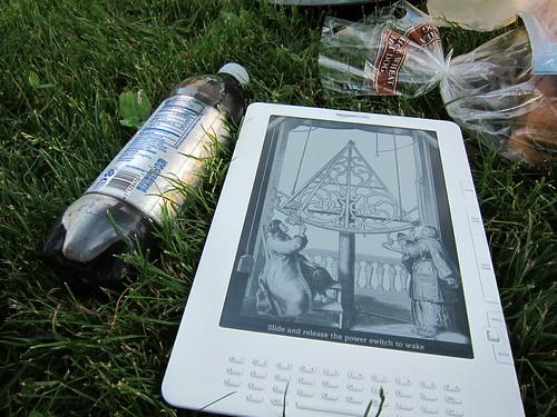 Kindle DX - because I'm super cool