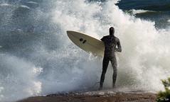 vesille siit! (Tomi Thti) Tags: ocean summer surf wave surfing aalto meri kes surffaus