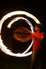 Flash - Ah ahh (iatebrisbane) Tags: fire heat firetwirling slowapature