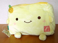 Hannari Tofu (FromJapanWithLove Japanese Kawaii Stationery) Tags: stuffedtoy cute japan japanese plush softies kawaii cushion hannaritofu