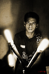 Lighted (ash.mec) Tags: boy portrait man sepia photography grunge monotone shiva maheshwari ashveen