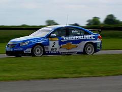 Jason Plato drives Chevrolet. (paul downing) Tags: canon croft btcc carracing pd1001 sx10is pauldowning
