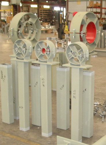 Cylinder Pipe Guides for a Power Plant