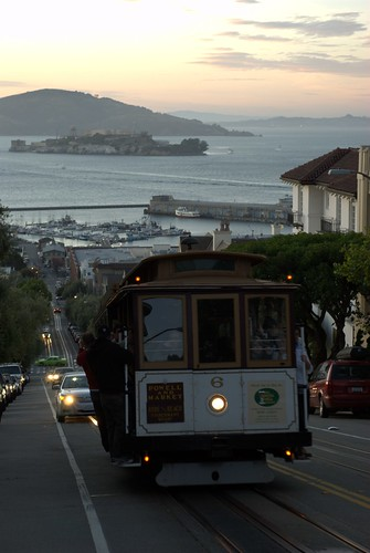 Cable Car and Alcatraz