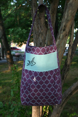 birds and bees tote