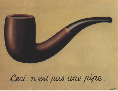 Rene Magritte, Ceci n'est pas une pipe