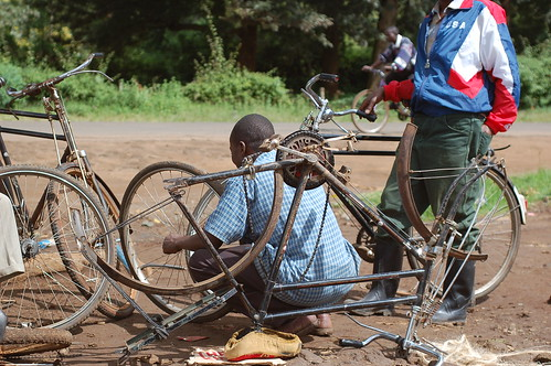 Roadside Bicycle Repair