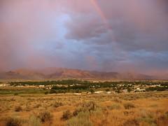 sunset humboldt rainbow desert nevada winnemucca greatbasin