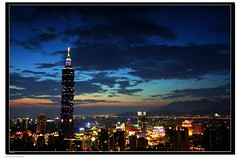 Sunset of Taipei (by Matthew Fang)