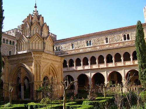 Claustro mudejar y templete del Real Monasterio de Guadalupe, Cáceres