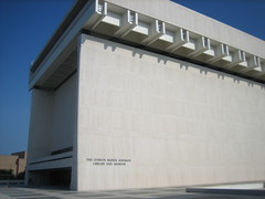 Photo of the LBJ Library and Museum