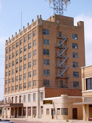 Old Hilton Hotel (Plainview, Texas) (courthouselover) Tags: texas tx hotels westtexas plainview halecounty ushighway70 texaspanhandleplains